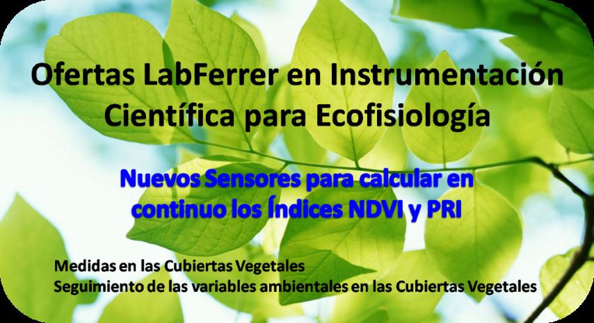 ofertas ecofisiologia LabFerrer